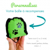 personnaliser ma balle a recompenses