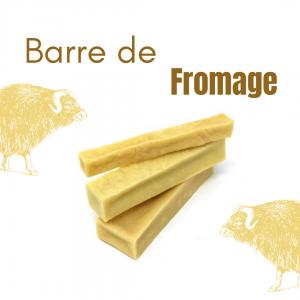 barre de fromage de yak