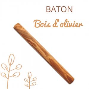 Bâton à mâcher en bois d'olivier pour chien